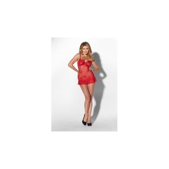 Сорочка SWEETIE PIE RED L 95792-01-03