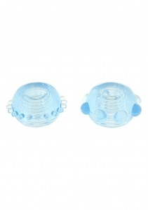 Набор колец POWER STRETCHY RINGS Blue 2PCS